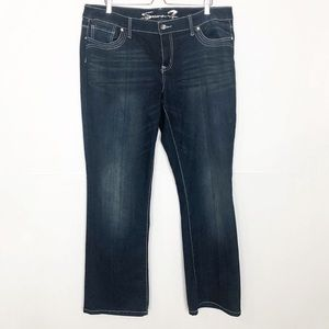 EUC 7 for all Mankind Plus size Luxe bootcut jeans
